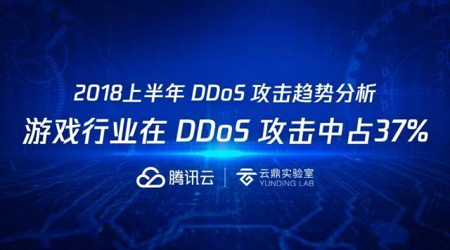 解读︱腾讯云发布 DDoS 攻击分析报告:游戏行业成重灾区