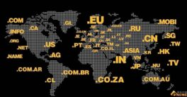 世界各地的域名